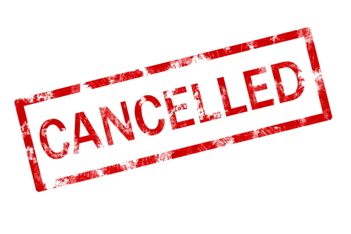 Workshops Cancelled