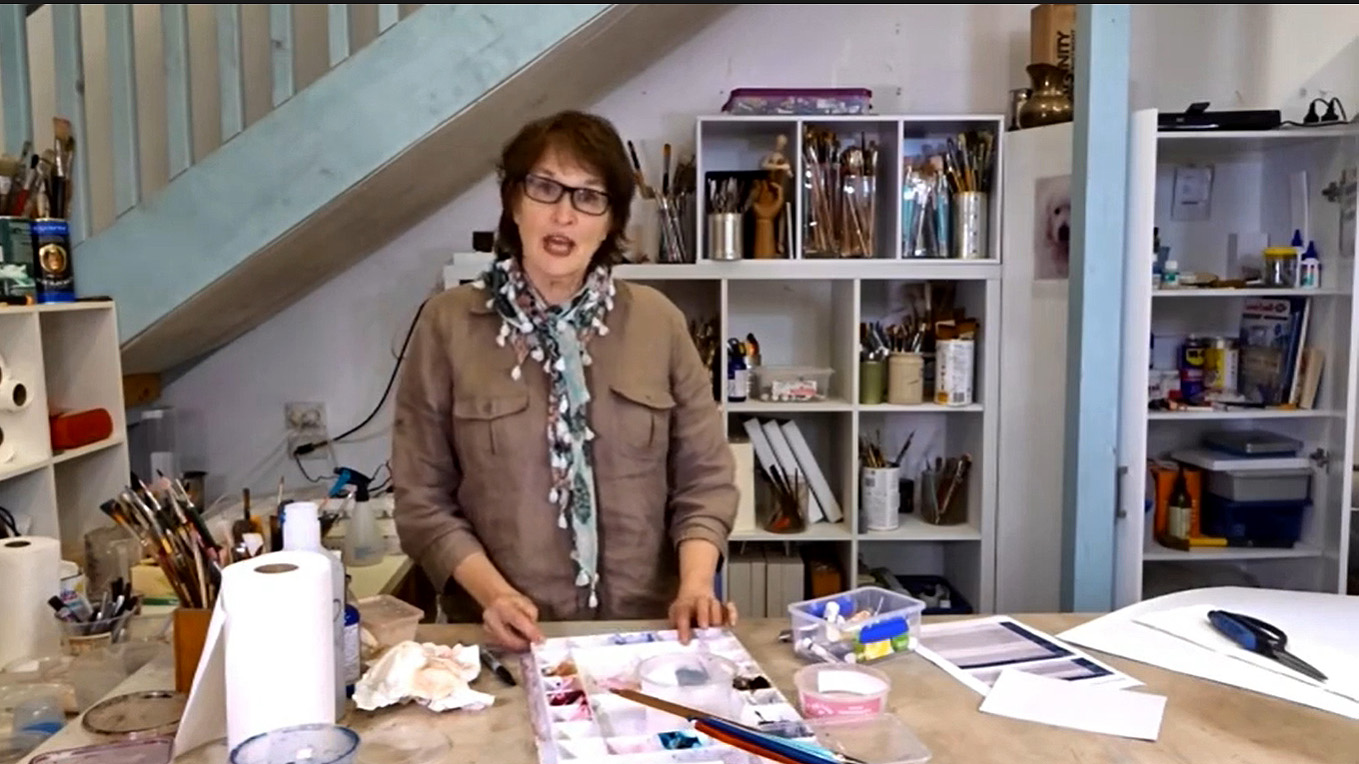 Video 2. More on Brushes and Introducing Colours and Paint